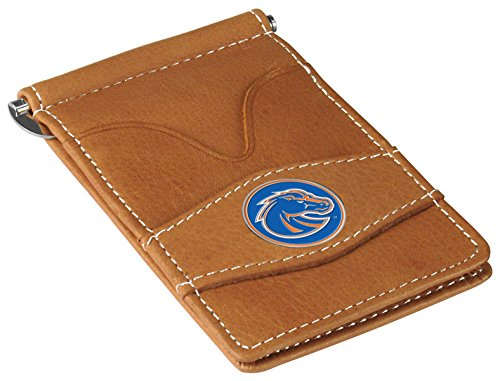 NCAA Boise State Broncos - Players Wallet - Tan Boise State Broncos Leather