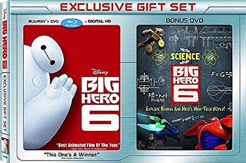Big Hero Six Walmart Exclusive Edition Bluray (Hero Six Dvd Blu Ray Big)