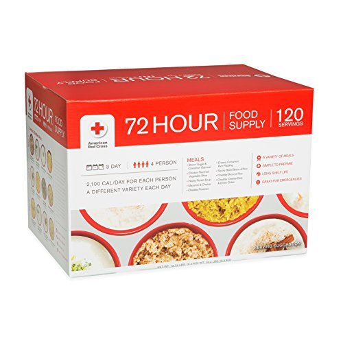 American-Red-Cross-4-Person-72-Hour-Food-Supply-Emergency-Freeze-dried-Food-Sealed-in-Mylar-Pouches-Long-Shelf-Life-Emergency-Food-Meals