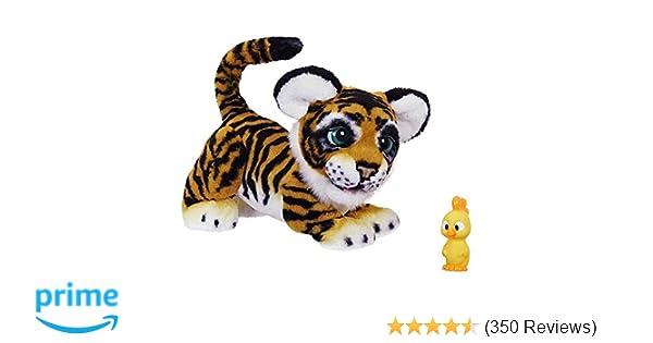Amazon Hasbro FurReal Roarin Tyler The Playful Tiger Toys Games