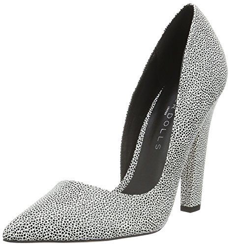 Paper Dolls Women's Nissa Closed-Toe Pumps Gray (Grau) cheap outlet with mastercard sale online XWm1tkL