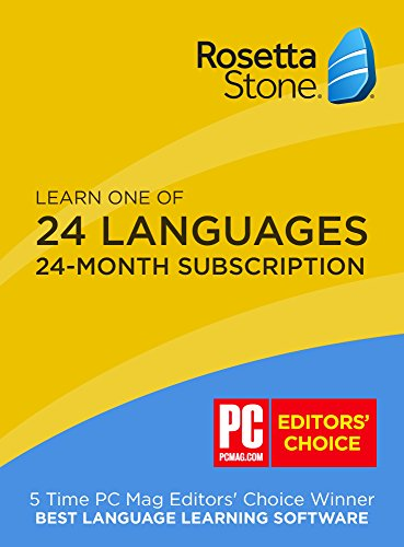 Rosetta Stone 24 Month Online Subscription