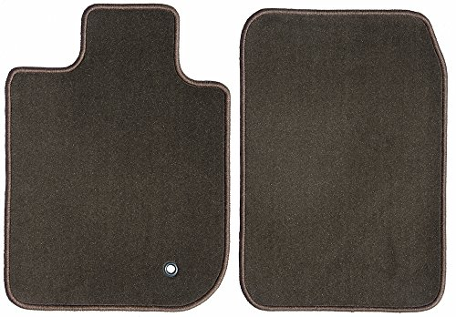 2500 Chocolate - GG Bailey D60957-F1A-BLK Chocolate Brown Black Front Set Custom Car Mat for Select Chevrolet Silverado 2500 HD Models