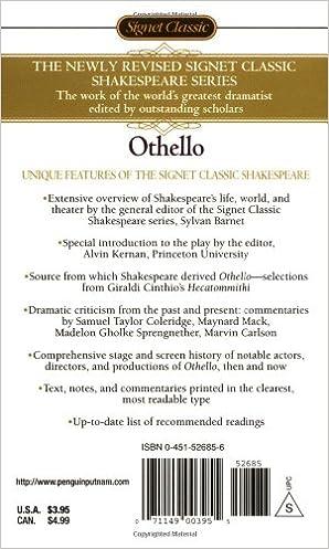 Othello (Oxford School Shakespeare Series)