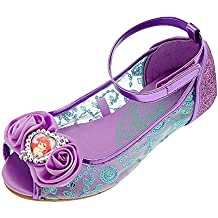 Disney Store Deluxe Ariel The Little Mermaid Shoes Flats Flowers