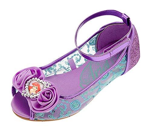 321892c5d78060 Disney Store Deluxe Ariel The Little Mermaid Shoes Flats Flowers - Buy  Online in Oman.