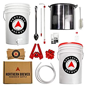 Northern Brewer – Brew. Share. Enjoy. HomeBrewing Starter Set, Equipment and Recipe for 5 Gallon Batches