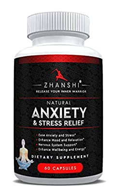 Zhanshi Natural Anti Anxiety Stress Relief Relaxation Support Herbal Veggie Dietary Supplement Keep mind relaxed