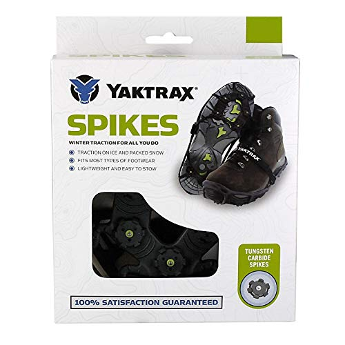 Yaktrax Spikes for Walking on Ice and Snow , Small/Medium