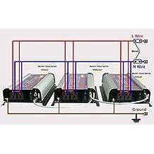 SUNGOLDPOWER 2500W Peak 5000W Stackable Off Grid Power Inverter Parallel Input DC 12V AC 110V 220V 230V 240V Converter,Good Quality