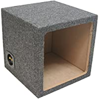 ASC Single 12 Subwoofer Kicker Square L3 L5 L7 Sealed Sub Box Speaker Enclosure