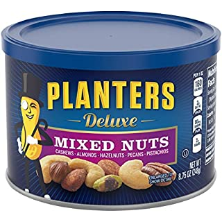 Planters Mixed Nuts, Deluxe Mixed Nuts, 8.75 Ounce (Pack of 1) (B008VSYV30) | Amazon price tracker / tracking, Amazon price history charts, Amazon price watches, Amazon price drop alerts