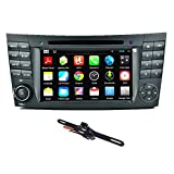 TOCADO 7'' Android 5.1 Quad Core In Dash Touchscreen Car Stereo DVD Player Radio Receiver GPS Bluetooth Special for Benz E-Class W211, Benz CLS W219, Benz CLK W209, Benz G W463 + Car Backup Camera