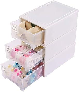Caja de almacenamiento para ropa interior tipo cajón con varios ...