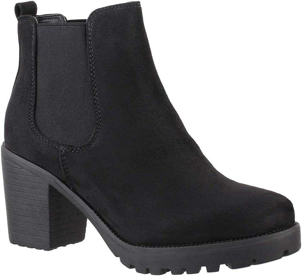 Elara Chelsea Boots Plateau Chunkyrayan - Botines para mujer