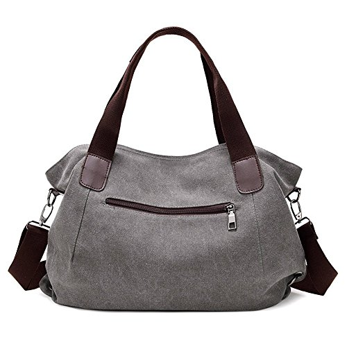 848 Women Casual Canvas Bucket Body Bag Cross Nameblue brown Handbag Bag Hobo Girl's Bags Canvas Bag Bag Messenger Vintage Shouder UdAwtq