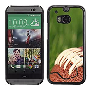 Graphic4You American Football Sports Design Hard Case Cover for HTC One (M8)