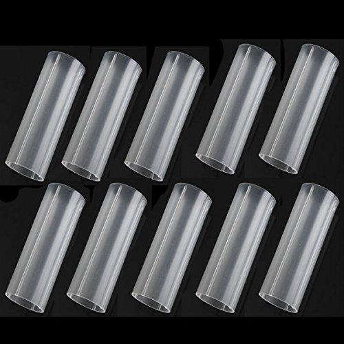 Lights & Lighting - 10pcs 18650 Plastic Battery Tubes 6cm 18650 Flashlight - Moldable Pipe Elastic Barrage Vacuum Tube Pliant Bombardment Subway Impressionable Shelling Underground