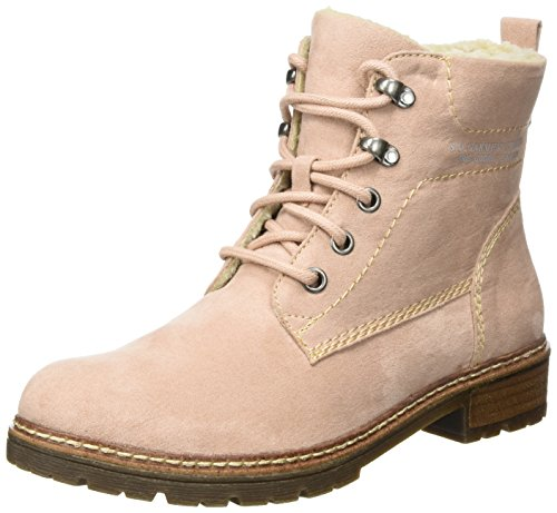 rose Boots 26212 Pink S oliver Combat Women's 4qIIRY