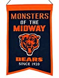 chicago bears stuff - Winning Streak Chicago Bears Monsters of the Midway Franchise Banner (14