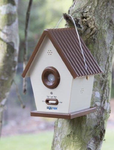 Dogtek Sonic Bird House Bark Control Outdoor Indoor Dog
