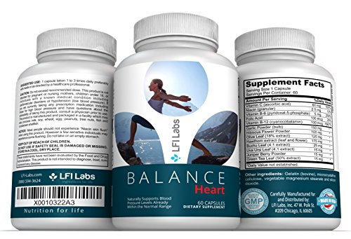 Balance Heart Blood Pressure Supplement
