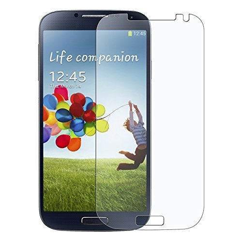 Generic Anti-Glare Fingerprint LCD Screen Protector Saver for Samsung Galaxy S4 - Non-Retail Packaging - Clear