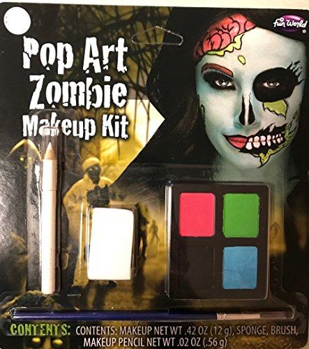 Pop Art Zombie Makeup Kit (Pop Art Zombie Makeup)