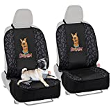 BDK Scooby-Doo Front Pet Seat Cover for Car SUV & Truck – 100% Waterproof Protection, Double Padded, Front Treat Pocket, Dog & Cat Friendly (Pair (2pc)) Review