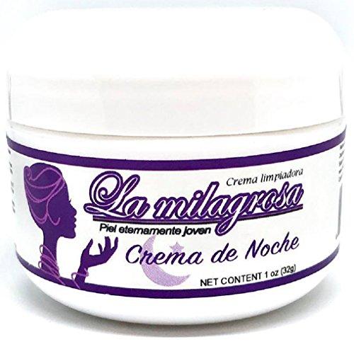 La Milagrosa Set Crema La Milagrosa DAY Cream, NIGHT Cream, La Milagrosa Capsulas, La Milagrosa Eyelids And Eye Bags Cream Original 100% Authentic by Standpoint (Image #3)