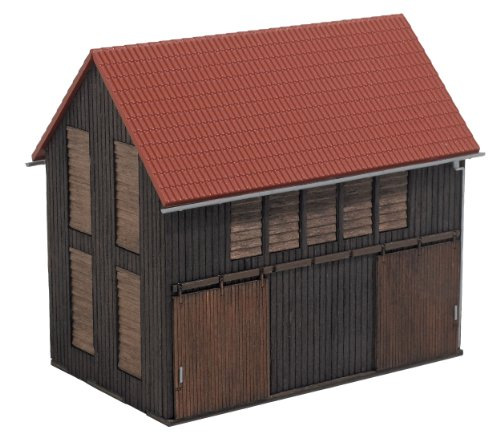 (Busch 1402 Tobacco Barn HO Structure Scale Model Structure)