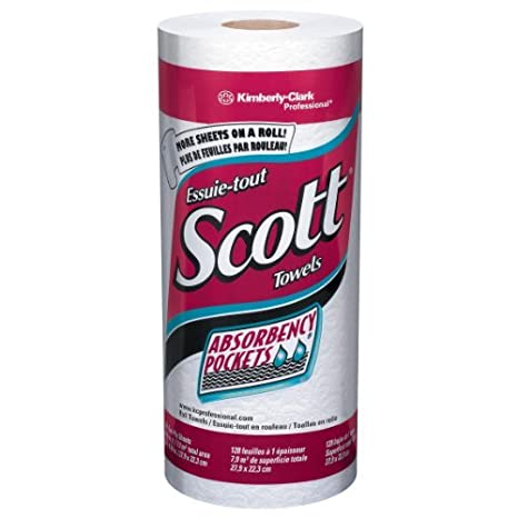 "Scott 41.482 Kitchen Roll Towel, 8,78 ""Ancho x 11"" Longitud"
