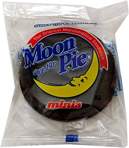Moon Pie Mini Chocolate Mini Marshmallow Sandwich - 144 per case. ()