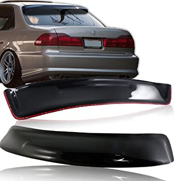 amazon com abs black rear roof spoiler window visor wing compatible with 1998 2002 honda accord dx lx ex sedan automotive abs black rear roof spoiler window visor wing compatible with 1998 2002 honda accord dx lx ex sedan