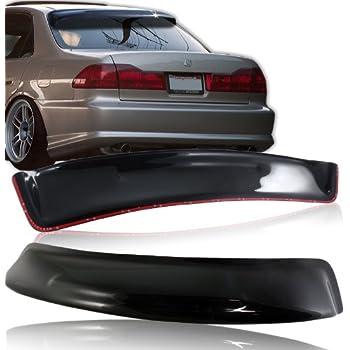 For 1994-1997 Honda Accord Sedan ABS Black Rear Window Roof Visor Spoiler Wing