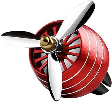 SZFREEE Ventilador de Aire Acondicionado para Coche con luz ...