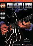 Country Licks for Guitar, Steve Trovato and Jerome Arnold, 0634021303