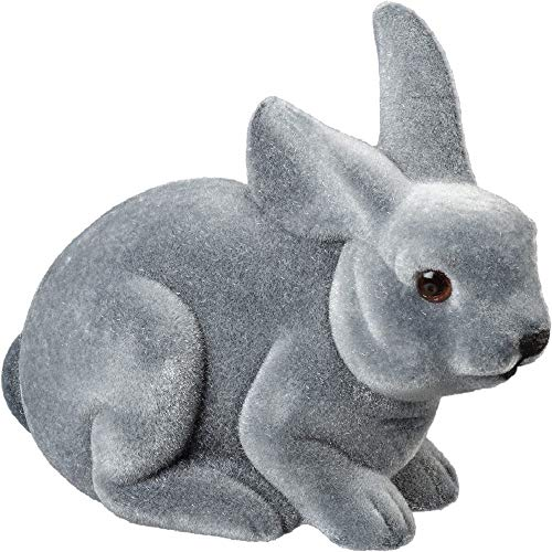 Primitives by Kathy Crouching Bunny, Gray