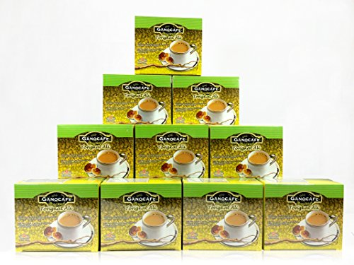 Gano Excel 10 Boxes Ginseng Tongkat Ali Coffee by Gano Excel
