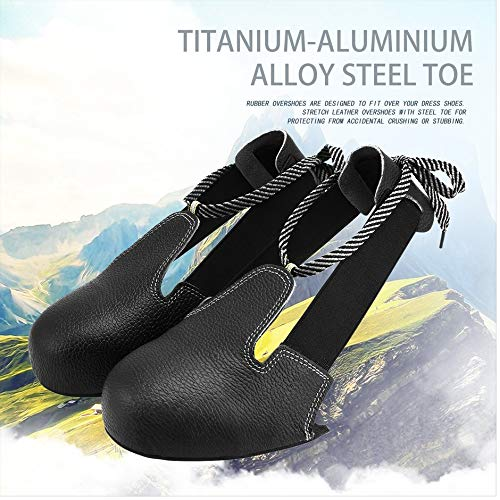 Anti-smashing Slip-resistant Unisex Steel Toe Safety Shoes Cover Universal Industry Protective Overshoes Anti-smashing Steel Toe Safety Shoes Cover