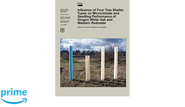 Influence of Four Tree Shelter Types on Microclimate and