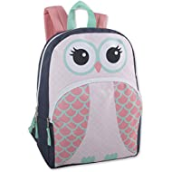 Animal Friends Critter Backpacks With Reinforced Straps (OWL)