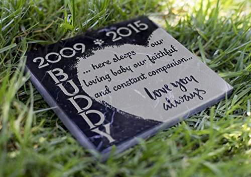 Memorial Pet Headstone - Love You Always - (Marble Grave Markers)