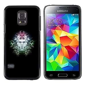 LECELL -- Funda protectora / Cubierta / Piel For Samsung Galaxy S5 Mini, SM-G800, NOT S5 REGULAR! -- Sci Fi Head --