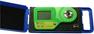Milwaukee Instruments MA871-BOX Digital Brix Sugar Refractometer for General Measurements with Protective Padded