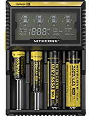 Nitecore 9004666 (Sysmax Industrial) Digi Charger D4 Universal Smart Charger, Black