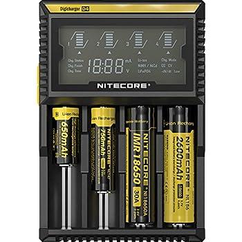 1 pc Nitecore D4 Digi charger Universal  Authorized US Nitecore Dealer