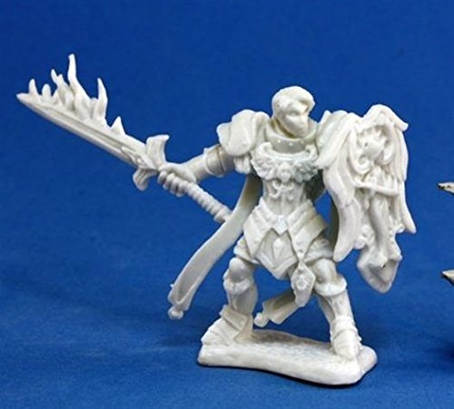 Almaran the Gold, Paladin (1) (Dark Paladin Miniatures)