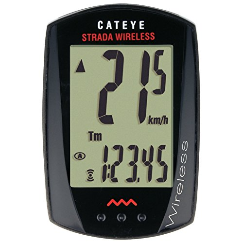 CatEye - Stada Wireless, Cycle Computer (Bike Computer With Cadence)