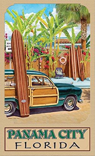 Northwest Art Mall ED-5736 BAX Panama City Florida Beach Access Print by Artist Evelyn Jenkins Drew, 11